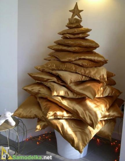 самодельные елки на новый год