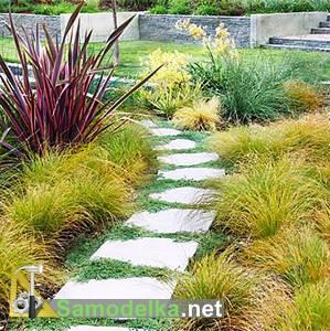 Садовые дорожки своими руками фото 2