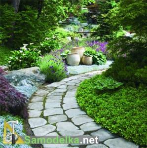 Садовые дорожки своими руками фото 9