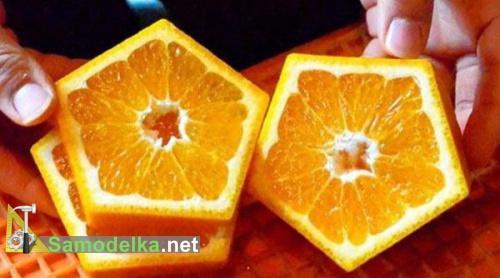 пятиугольный апельсин