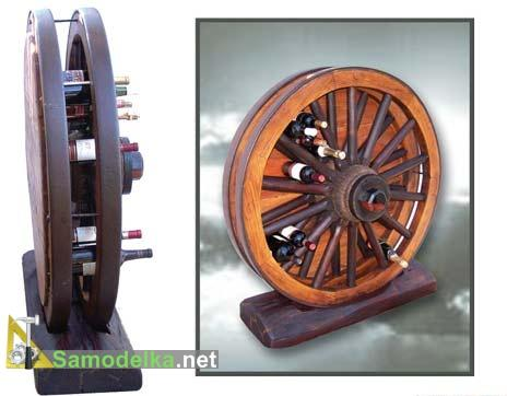 домашний мини бар своими руками из двух колес
