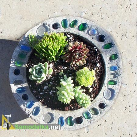 Горшок для сада своими руками