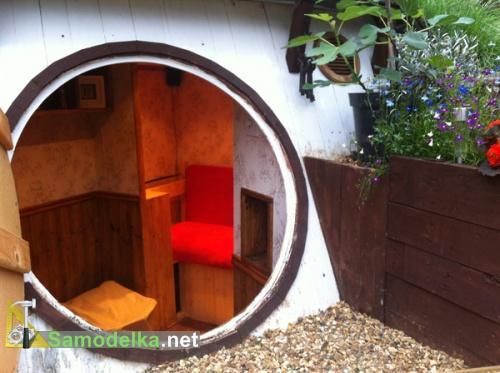 Как построить домик хоббита своими руками внутренняя обстановка