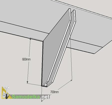 откидные опоры для стола