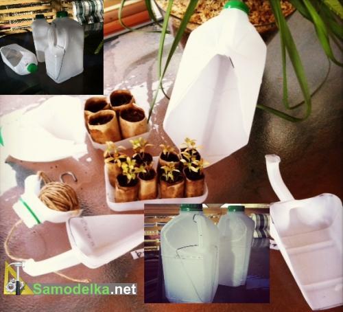 как сделать садовый инструмент из пластиковых канистр