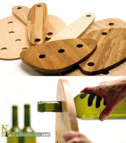 столешницы для столика из бутылок
