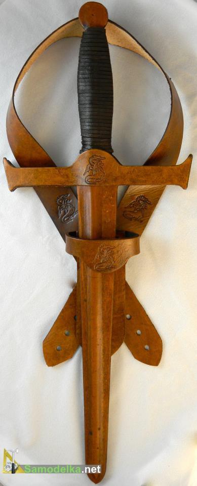 ирушечное вооружение кожаный набор воина - дракона