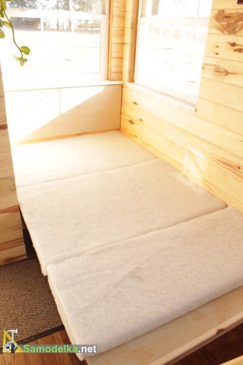 Спальное место в доме на колесах своими руками