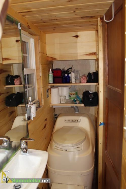 туалет в доме на колесах своими руками