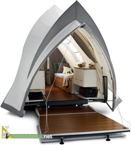 прицеп палатка для легкового автомобиля Опера Opera Camper