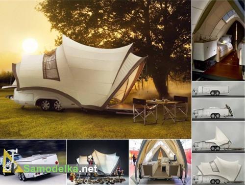 прицеп палатка для легкового автомобиля