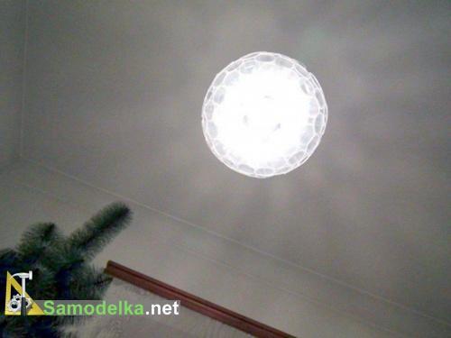 самодельная лампа