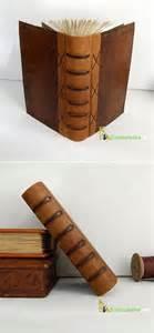 кожаный журнал из старого кошелька