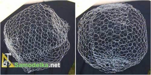 формируем каркас под светящийся шар