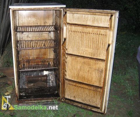 холодильник для коптильни