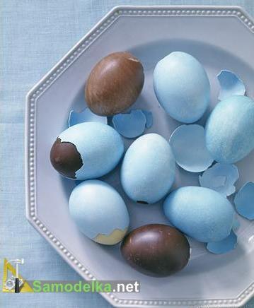 Делаем шоколадные яйца