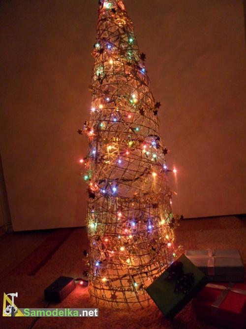 оригинальная елка своими руками
