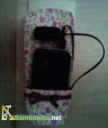 Крепление телефона на стену