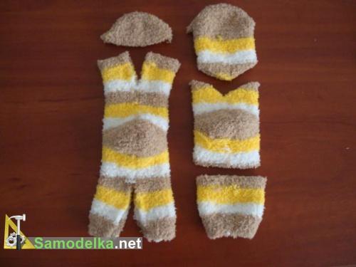 раскраиваем носки