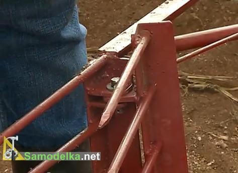 соединение частей чудо лопаты