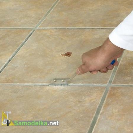 Как заменить треснувшую плитку на полу или на стене своими руками