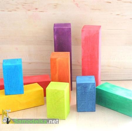 деревянные кубики своими руками