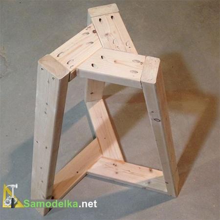 основание стола в сборе