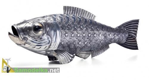 Рыба из автозапчастей