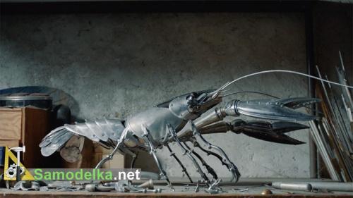 Некоторые животные из металла устрашают