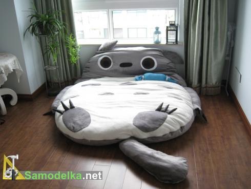 Кровать в форме героя мультфильмов Тоторо