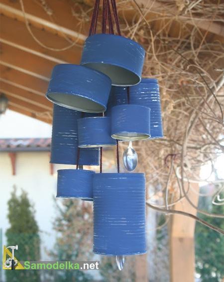 как сделать ветряной колокольчик
