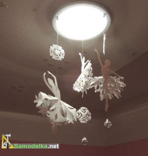 Снежинки балеринки