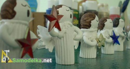 ангелы из пасты макарон третий вариант