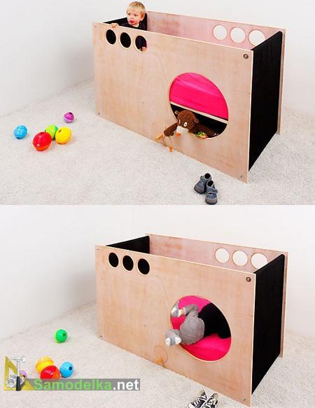 спальня - игровой кубик