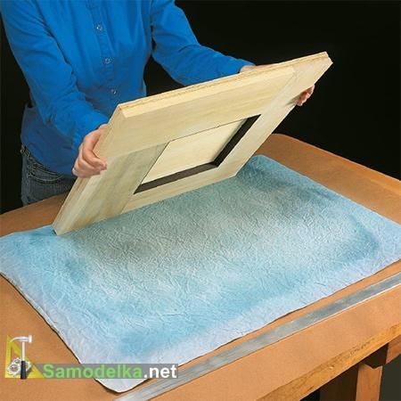 Рамка и бумага для оформления