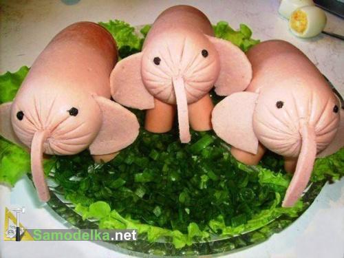 чудо салат - три слона