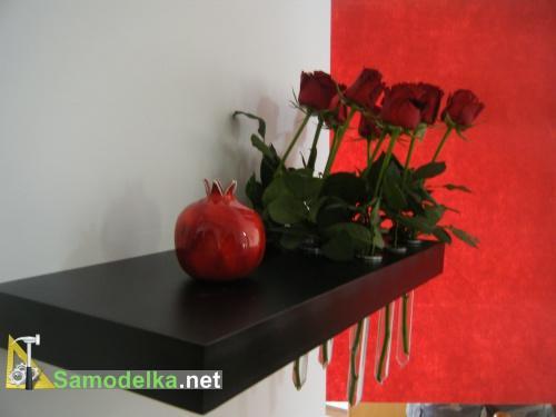 самодельная Полочка-ваза