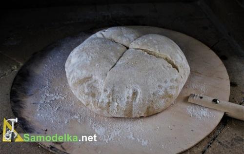 Хлеб на лопатке