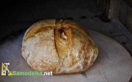 испеченный хлебушек