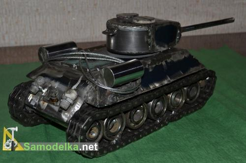 Модель танка из металла своими руками 4