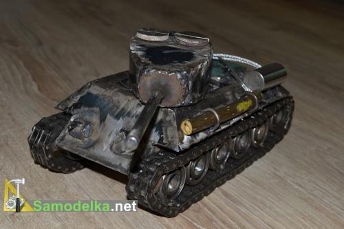Модель танка из металла своими руками 6