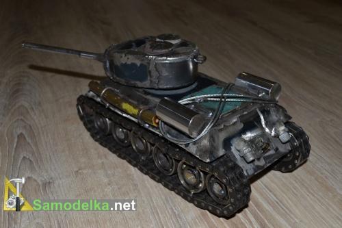 Модель танка из металла своими руками 7