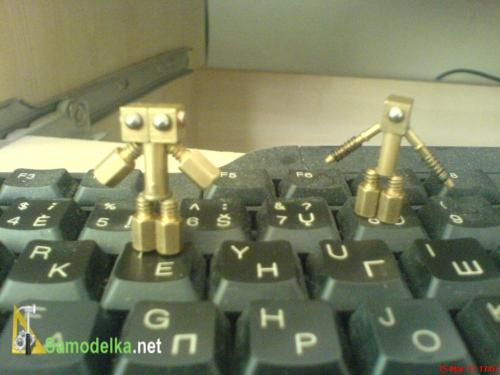 Vibriki самодельные роботы