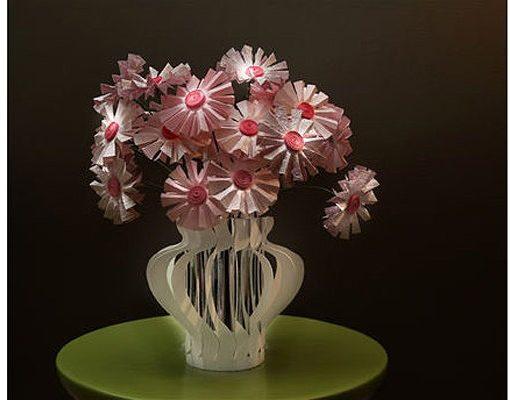 Как сделать букет цветов из бумаги Нежный букет самодельных маргариток.