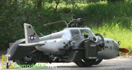 самодельный мотоцикл самолет