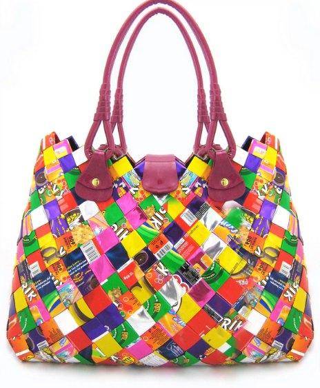 как сделать сумочку из пластмассы