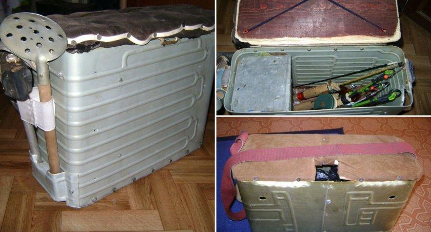 простейший самодельный ящик для рыбалки