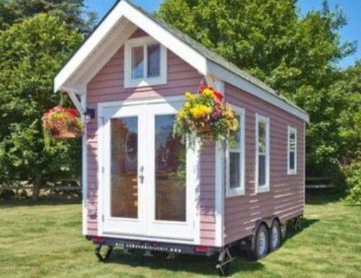 как сделать деревянный самодельный домик на автомобильном прицепе