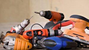 Электроинструменты для домашних работ