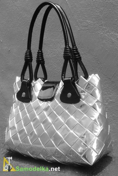 самодельная стильная не кричащая, но завораживающая своей красотой сумочка